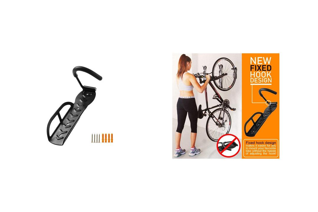 HOMEE Bicycle Wall Hook Rack Holder Hanger Stand Bike Storage System for Garage/Shed
