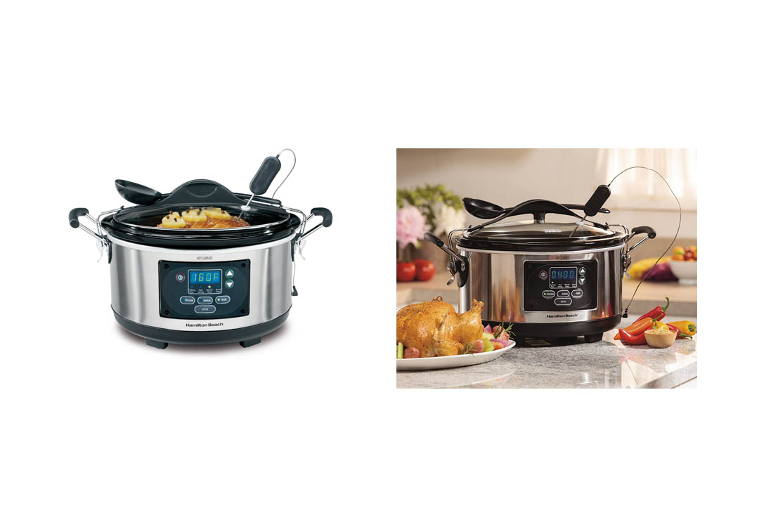 Hamilton Beach Set 'n Forget Programmable Slow Cooker (33967A)Hamilton Beach Set 'n Forget Programmable Slow Cooker (33967A)