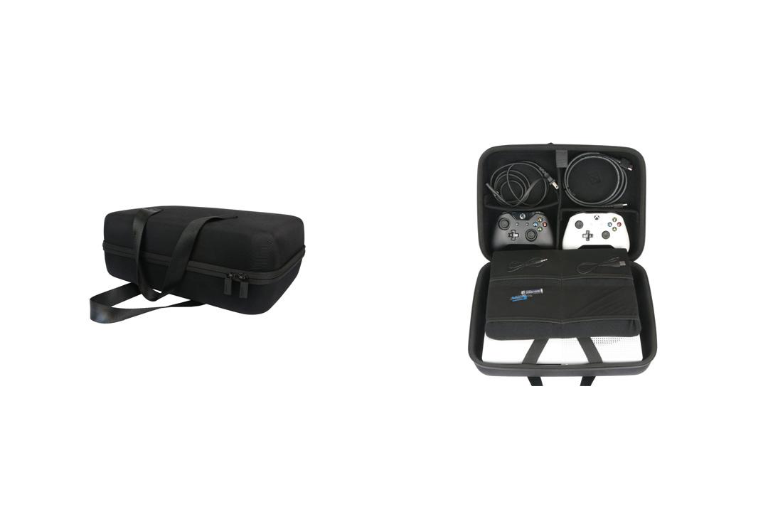 Hard Travel Case for Xbox One X Project Scorpio Edition Console Co2crea