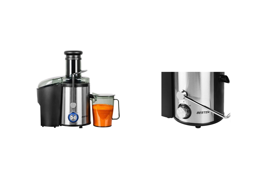Juice Extractor, BESTEK 800 Watts Whole Fruit Centrifugal Juicer Machine