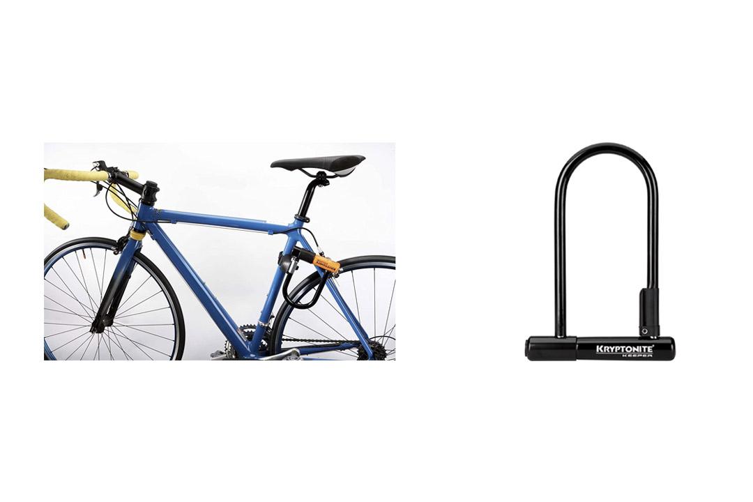 Kryptonite Keeper 12 Standard Heavy Duty Bicycle U Lock Bike Lock (4-Inch x 8-Inch)