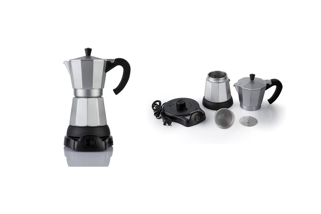 Mandarin-Gear - 6 cup - Electric Espresso coffee / moka stovetop maker