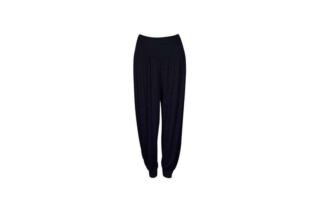 R KON Women's Full Length Cuffed Ankle Pants