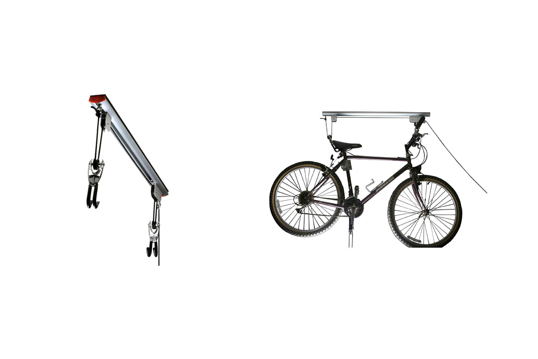 RAD Cycle Products Highest Quality Rail Mount Heavy Duty Bike Hoist