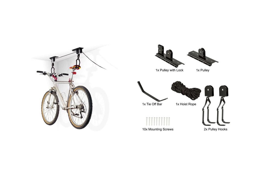 1-Bike Elevation Garage Bicycle Hoist
