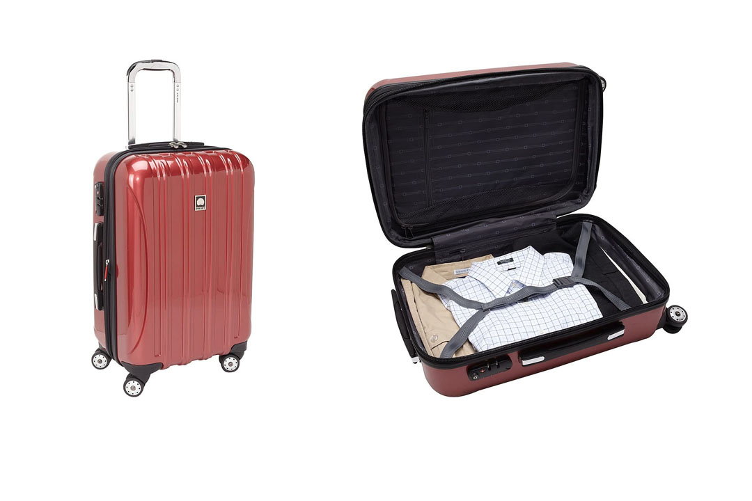 Desley Luggage Helium Aero carry -on Spinner trolley Luggage Bag