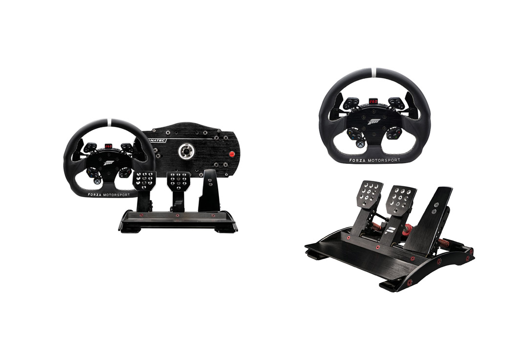 Fanatec Forza Motorsport Racing Wheel and Pedals Bundle for Xbox One and PC Fanatec