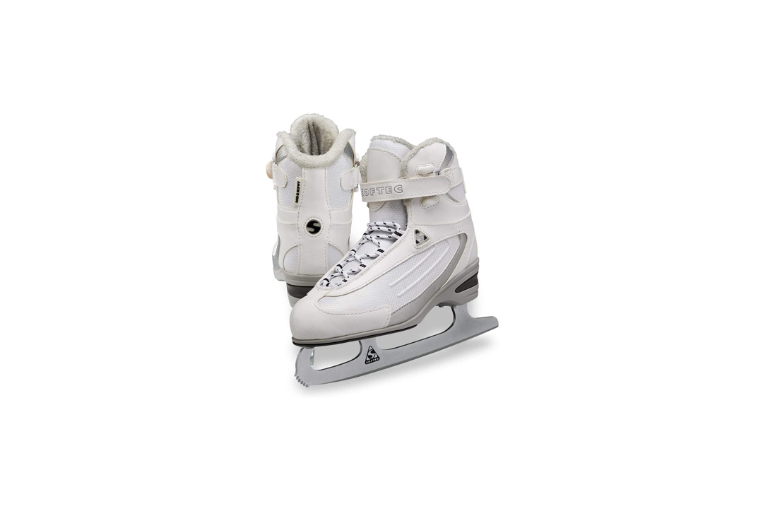 Jackson Ultima Softec Classic ST2300 Womens and Girls Figure Ice Skates - Black, Navy, White