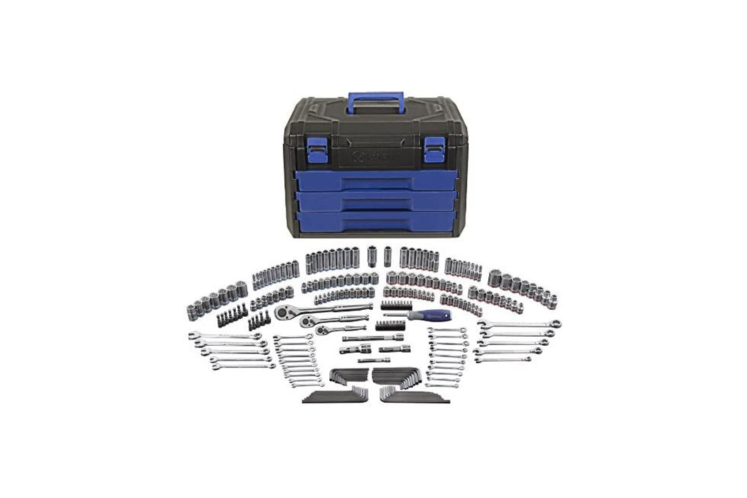 Kobalt 227-Piece Standard/Metric Mechanics Tool Set