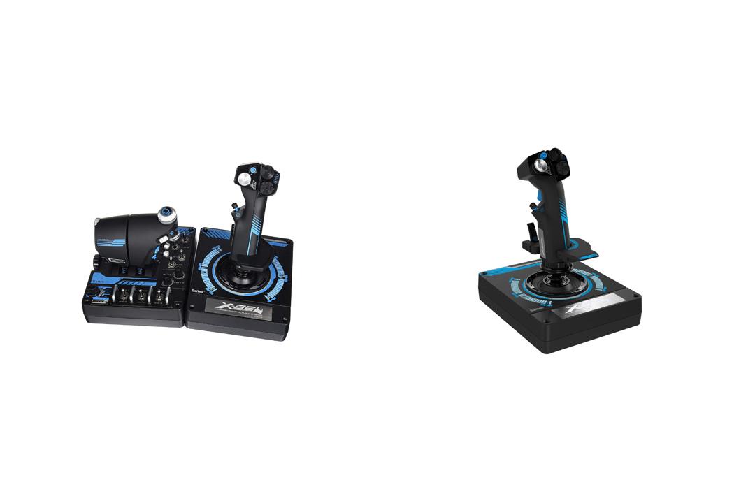 Saitek Pro X-56 Rhino H.O.T.A.S. Video Game Flight Controller for PC