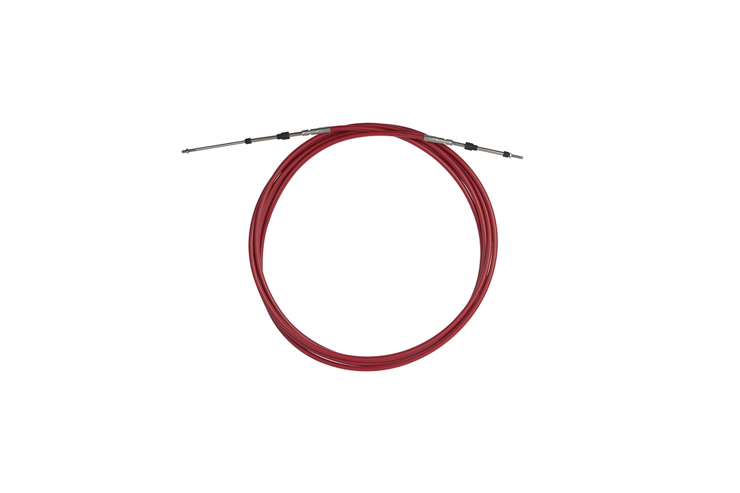 SeaStar CC332XX Red, 33C Control Cable with Stainless Steel 10-32 Threaded Ends