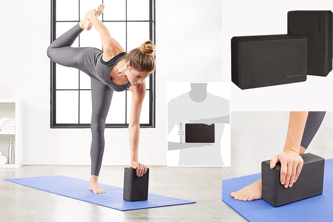 AmazonBasics Yoga Blocks