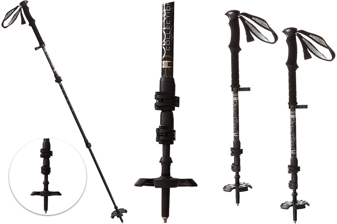 Atlas Elektra Lockjaw 3 Adjustable Poles