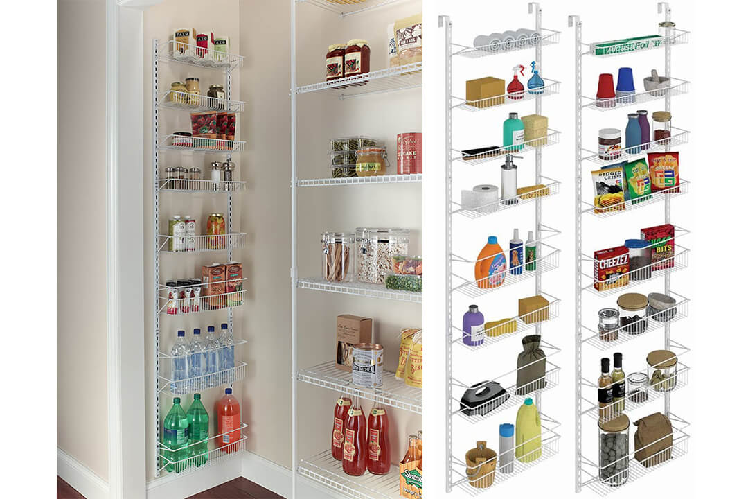 ClosetMaid 12.33 Adjustable 8-Tier Wall and Door Rack