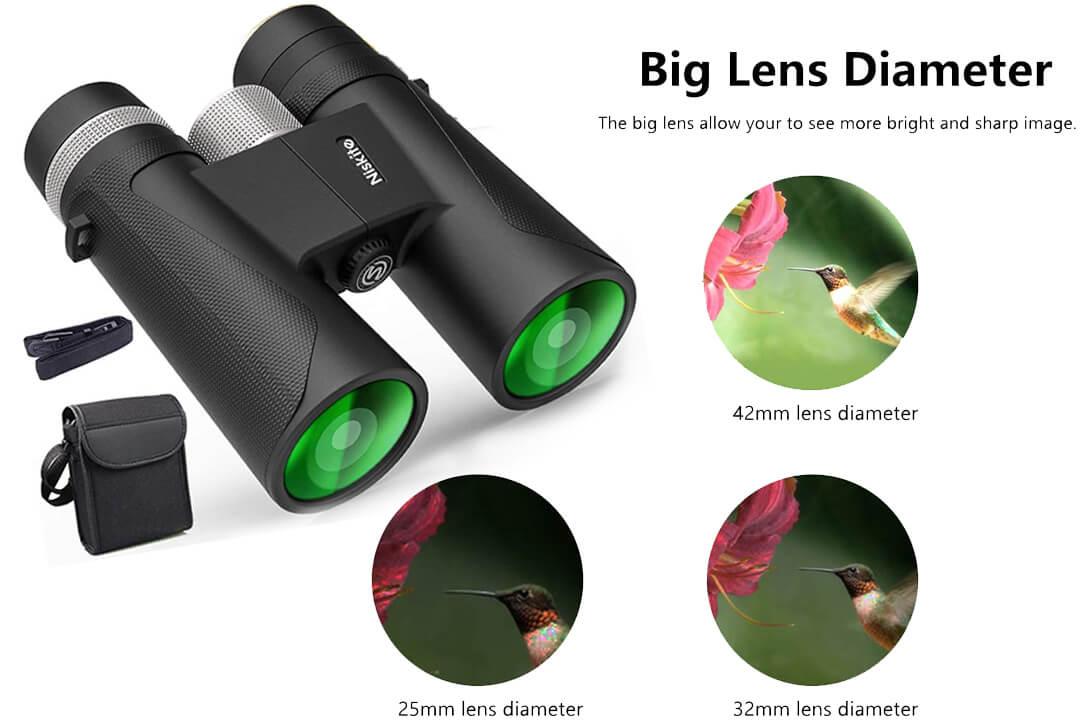 Compact Binoculars High Power Adults