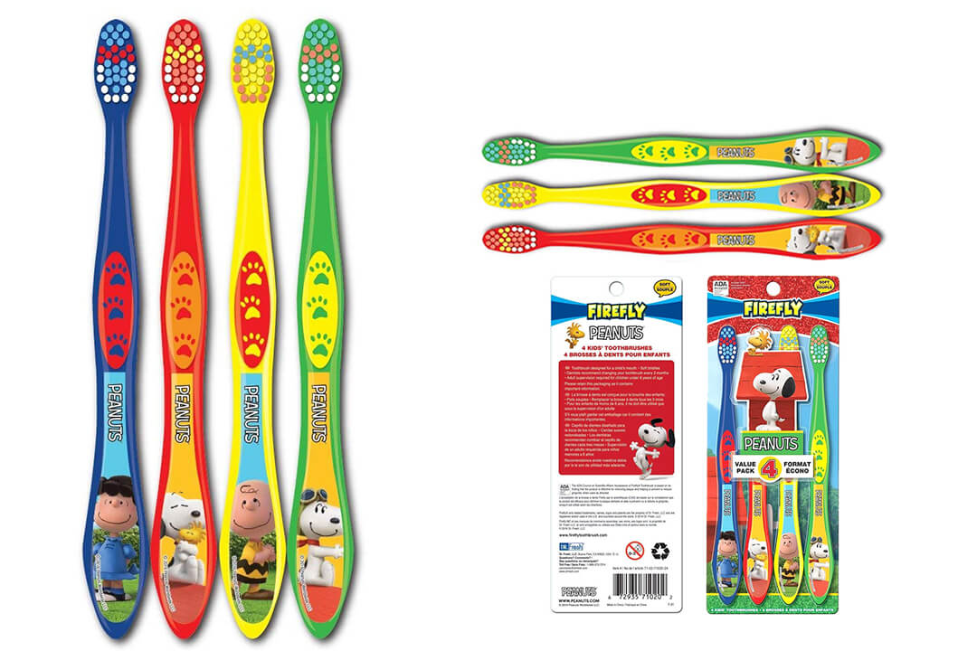 Dr. Fresh peanuts snoopy toothbrush