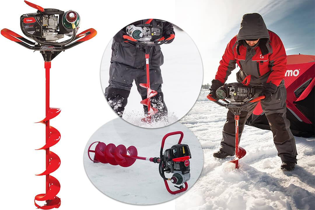 Eskimo High Compression 40cc Propane with 8 Inch Quantum Ice Auger