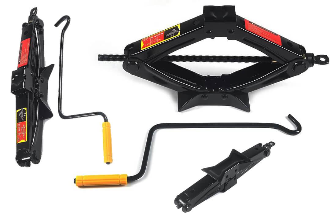 Fasmov Scissor Jack-1.5 Ton, Black