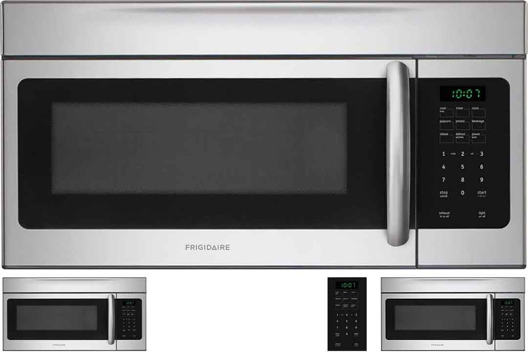 Frigidaire FFMV164LS 1.6 cu. Ft. Over-the-Range Microwave Oven