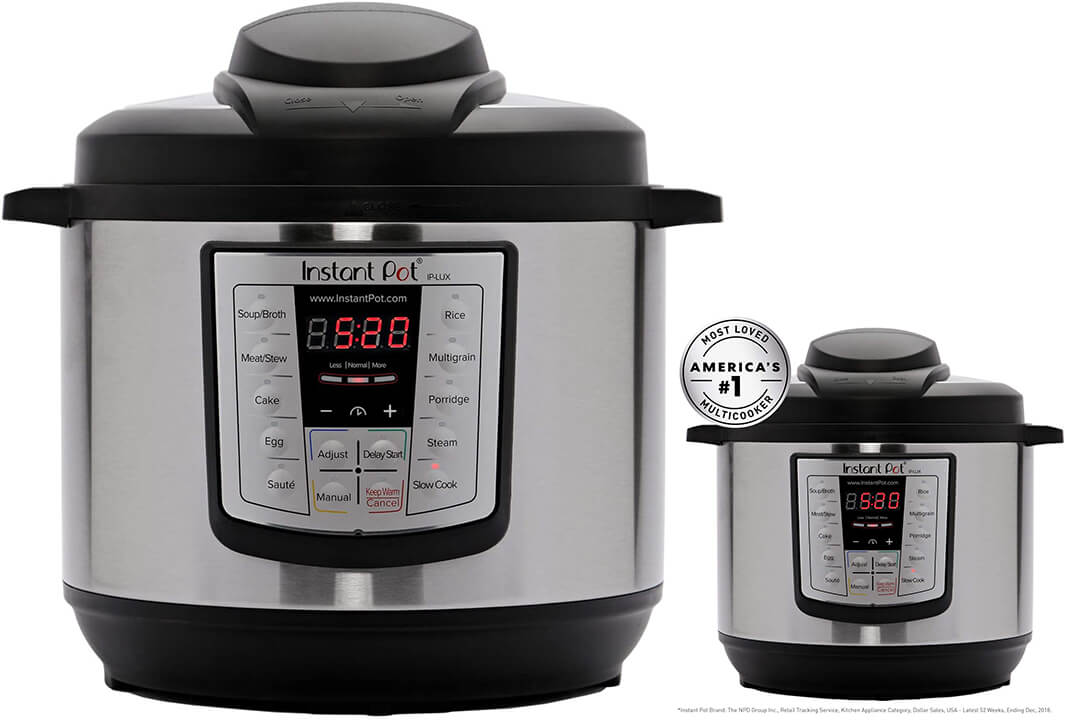 Instant Pot LUX60 V3 6 Qt 6-in-1 Muti-Use Programmable Pressure Cooker