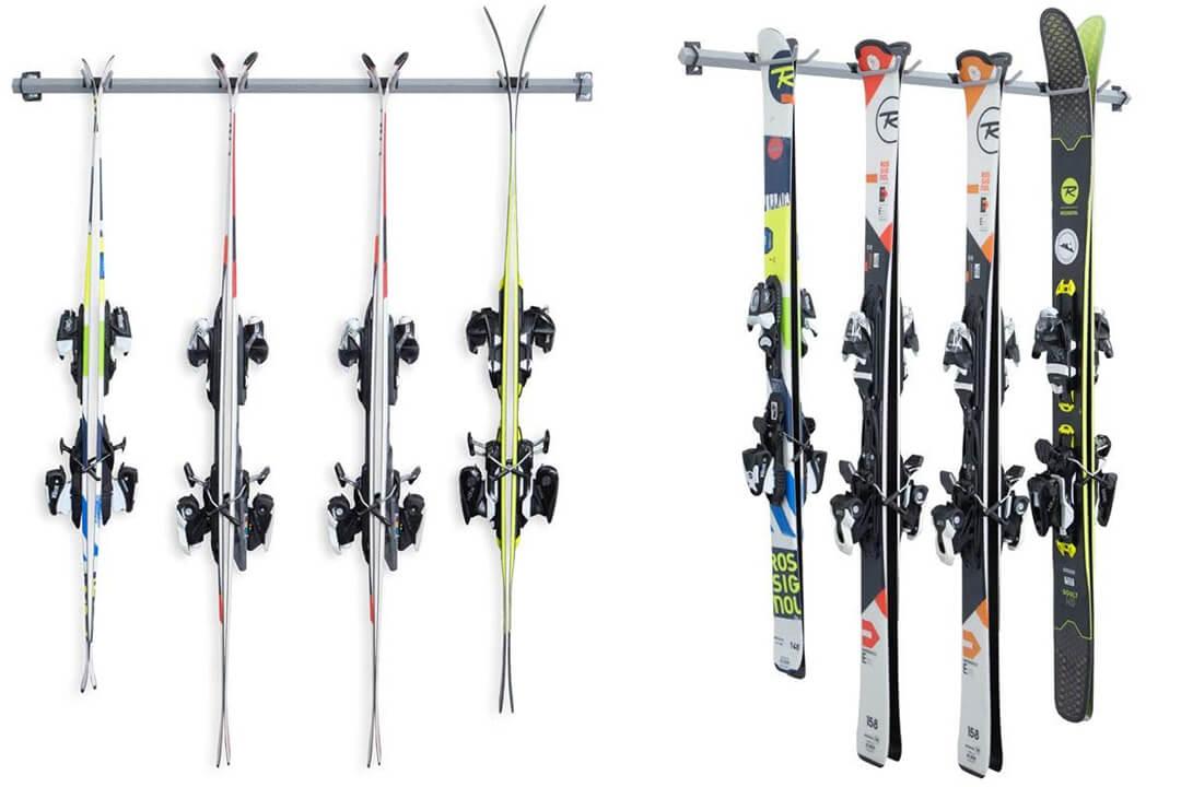 Monkey Bars 4-Pair Ski Storage Rack