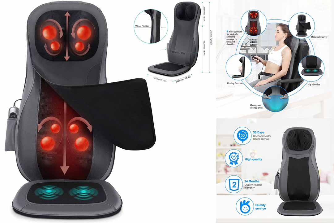 Naipo Shiatsu Massager Heat Neck & Back