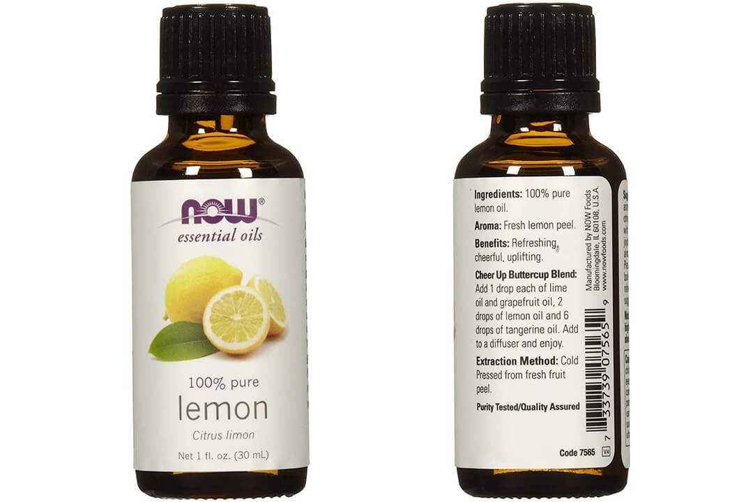 Now Foods Essential Oils Lemon, one fl oz 30 ml