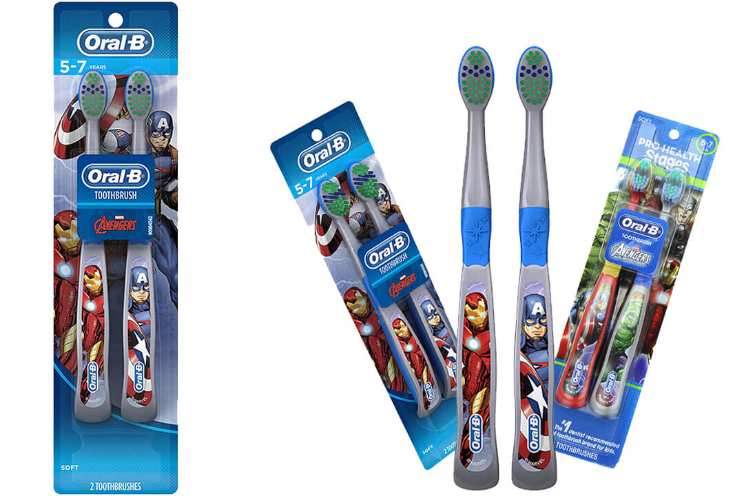 Oral-B Pro-Health Stages Avengers Assemble Toothbrushes
