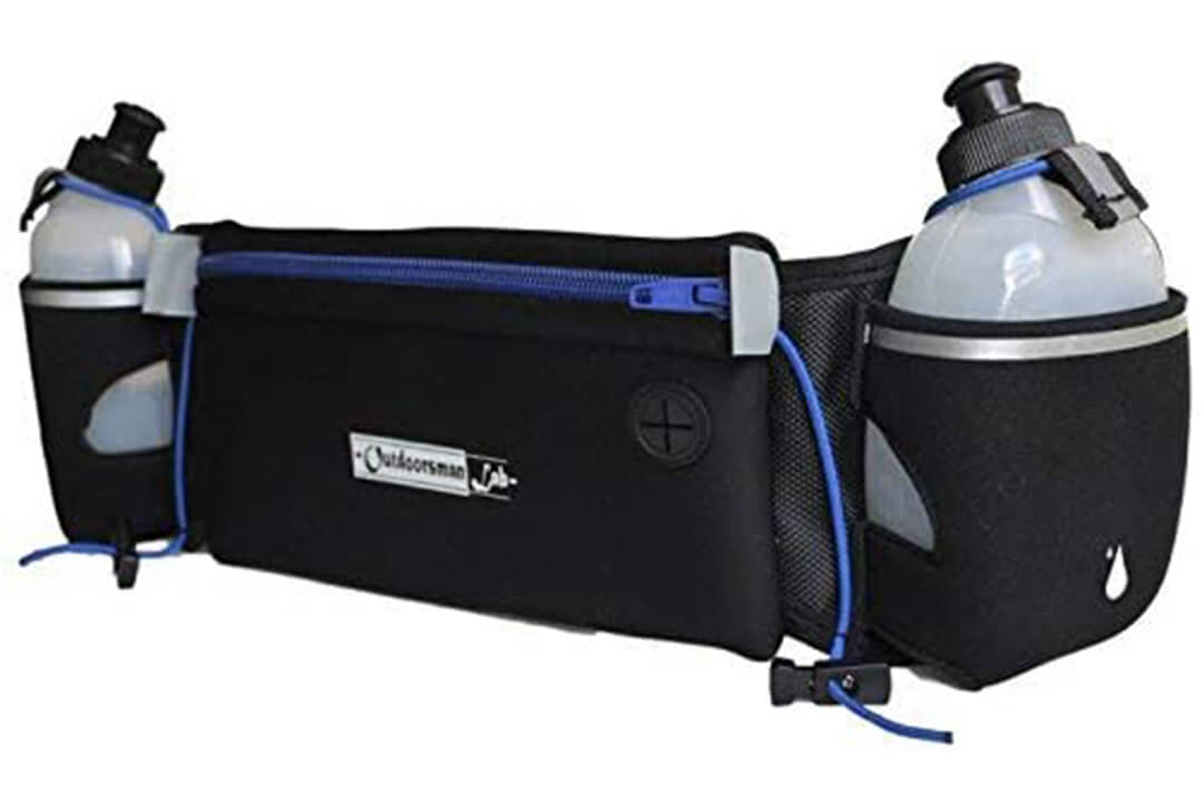 Outdoorsman Lab Hydration Belt for Running with Water Bottles