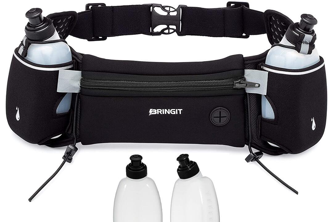 Running Belt with Water Bottles