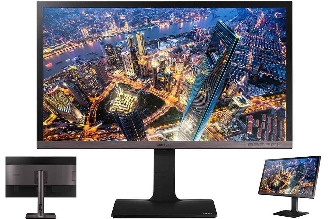 Samsung LU28E85KRS GO 28 U28E850R 3840x2160 UHD Monitor for Business