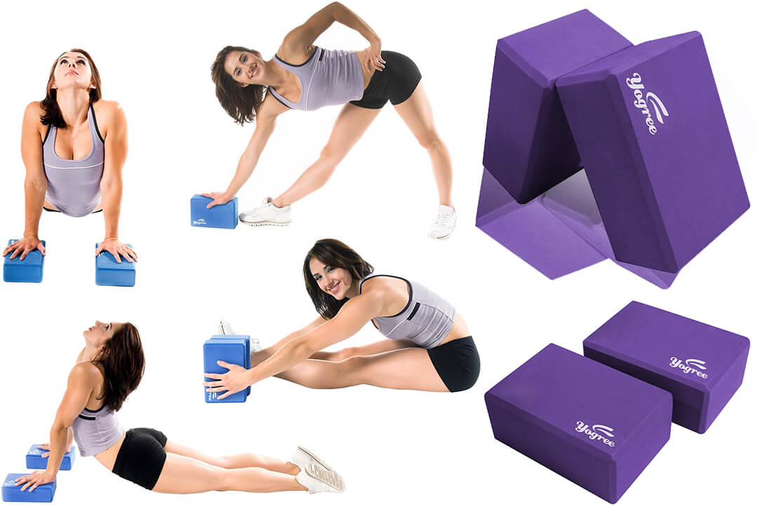 Yogree Yoga Blocks High-Density EVA Foam Brick